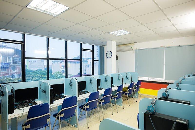 Cơ sở vật chất hiện đại của AVT Education