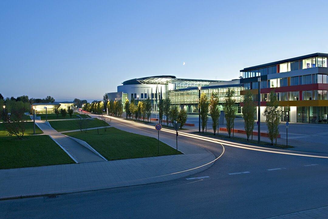 Khuôn viên trường đại học TU Munich