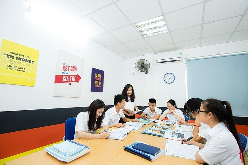 Lớp học tiếng Đức tại AVT Education