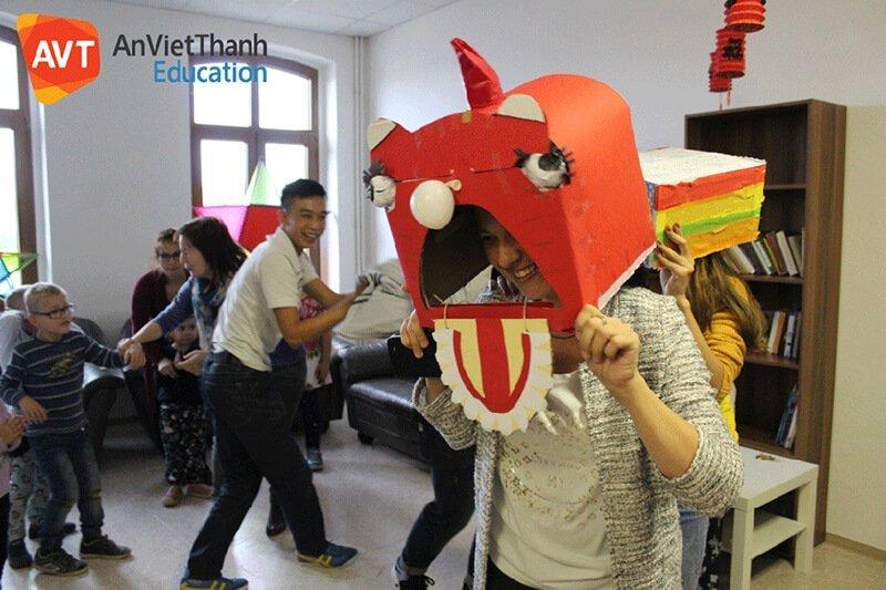 Trung thu của học viên AVT tại Đức