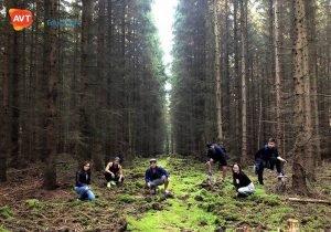 Các bạn học viên AVT thăm rừng đen nổi tiếng ở Đức