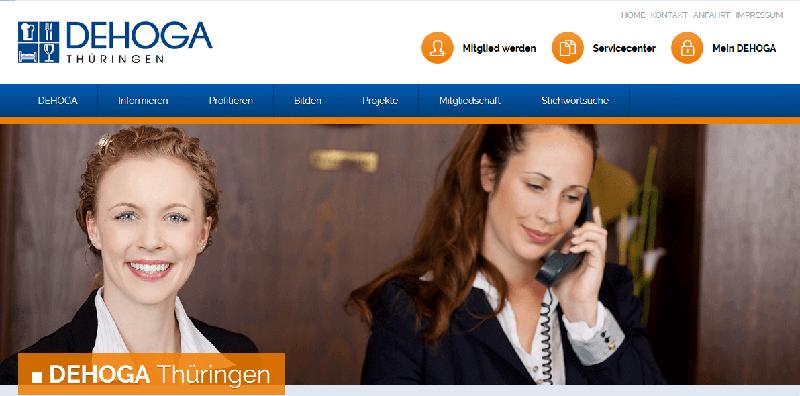 Trường học nghề nhà hàng khách tại DEHOGA Thüringen