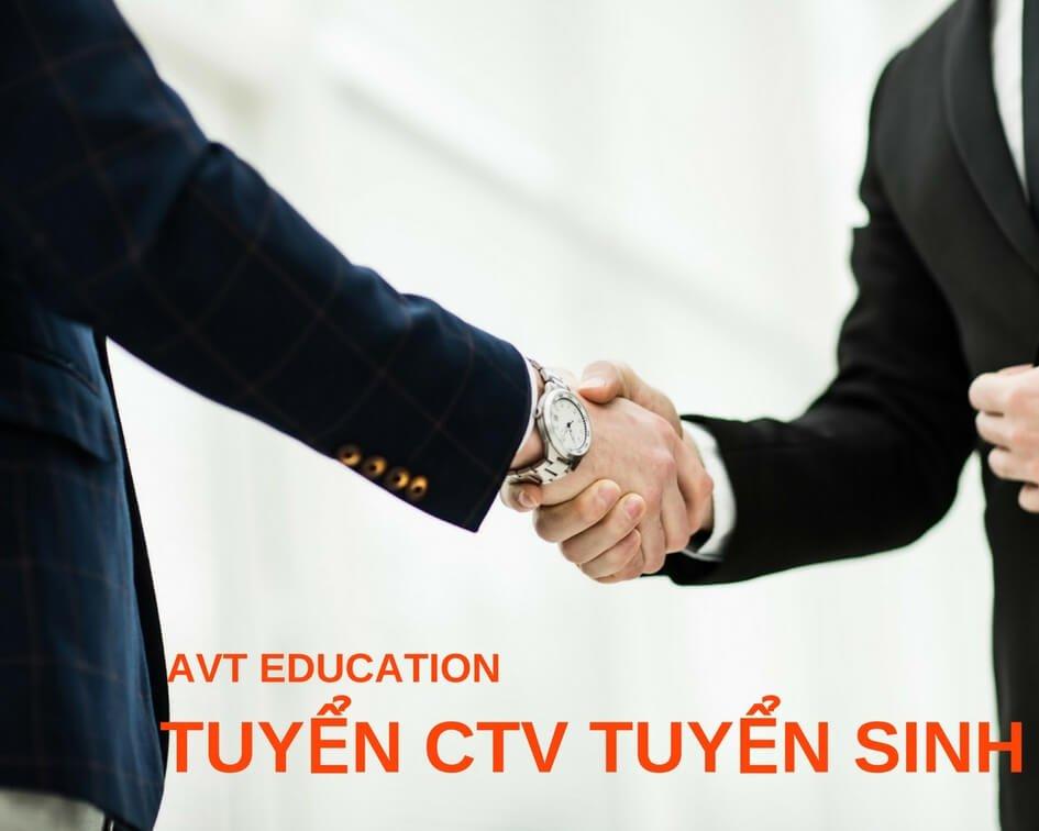 AVT Education tuyển cộng tác viên và đối tác hỗ trợ tuyển sinh