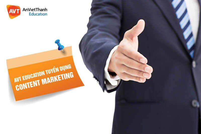 AVT Education - Tuyển dụng content marketing tháng 4