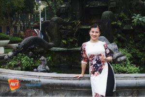 Cô Nguyễn Quỳnh Hoa - Giảng viên tiếng Đức AVT Education