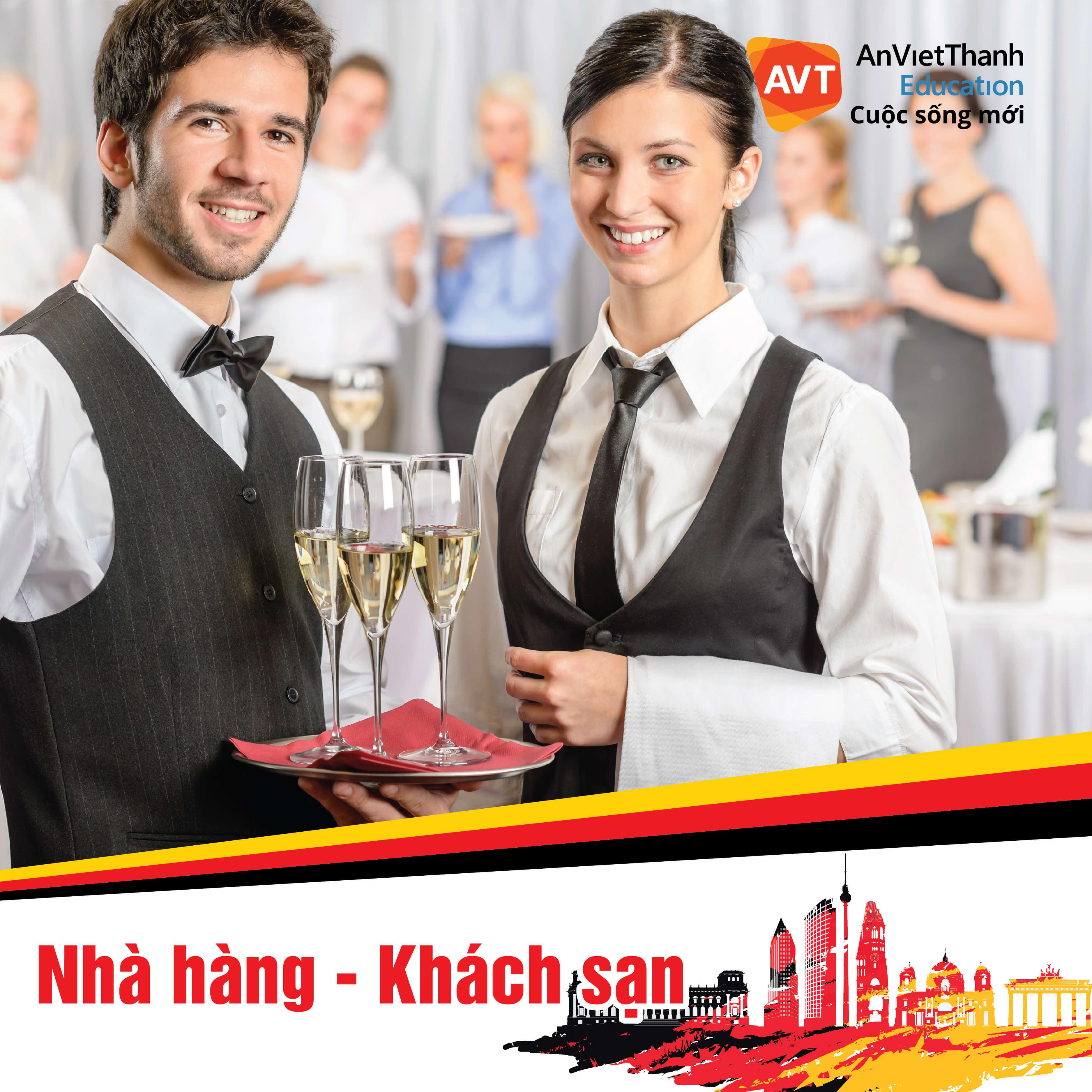 Nhà hàng - Khách sạn là ngành đứng thứ 2.