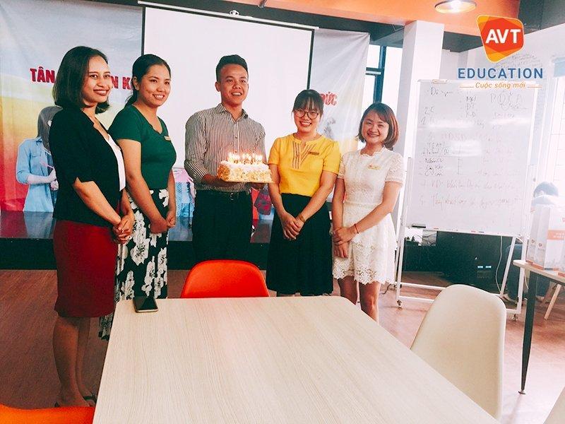 Các CBNV AVT Education có sinh nhật trong tháng 7