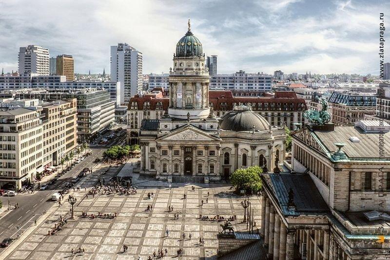 Berlin- thủ đô xinh đẹp của nước Đức