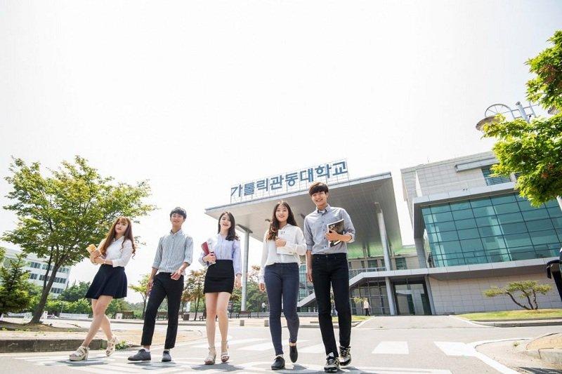 Hiện tại, trường đại học Gimhea là ngôi trường duy nhất cam kết đầu ra cho sinh viên.