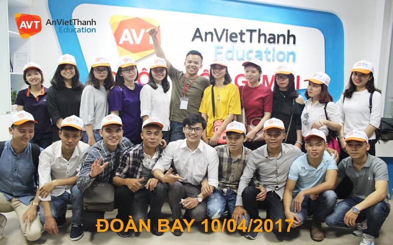 AVT Education đã có nhiều đoàn bay thành công