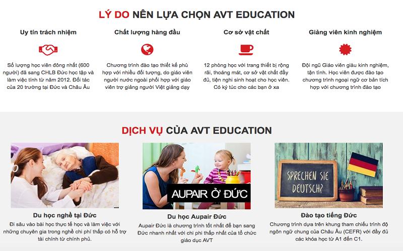AVT Education là tổ chức uy tín trong lĩnh vực du học nghề tại Đức