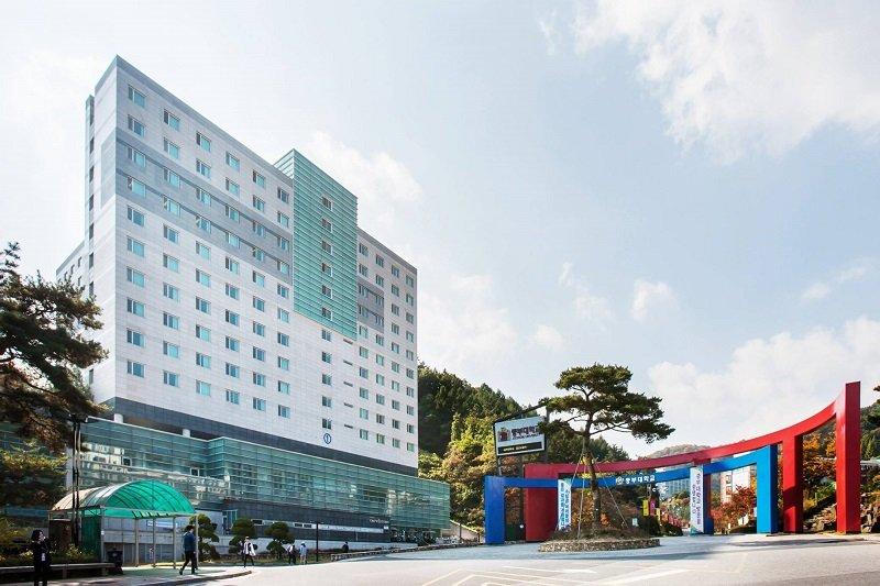 Hệ thống cơ sở vật chất ở đại học Joongbu khá hiện đại