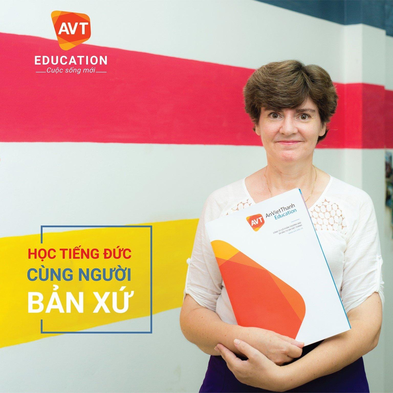 Học tiếng Đức với người bản địa tại AVT Education