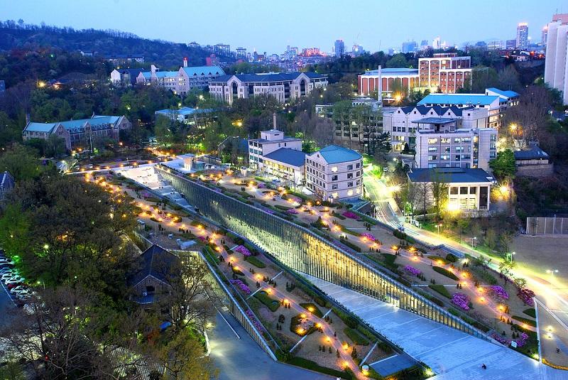 Đại học nữ sinh ewha về đêm