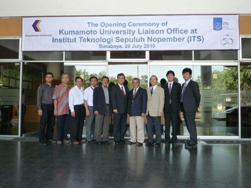 Trường Kumamoto luôn cải thiện không ngừng chất lượng cơ sở vật chất và giảng dạy