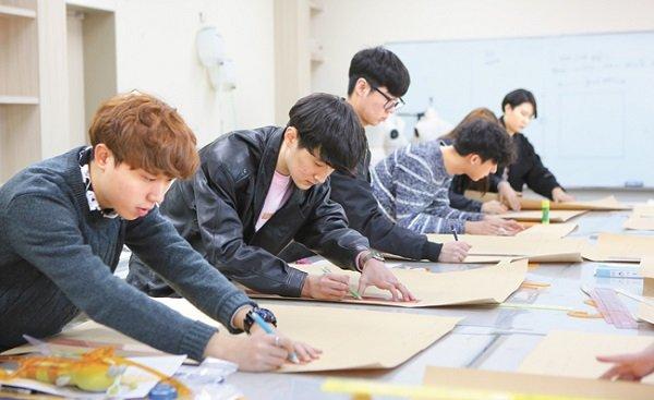 Ngành thiết kế đồ họa Đại học Hansung Hàn Quốc