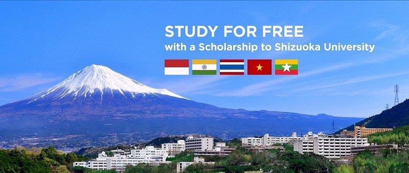 Du học Shizuoka Nhật Bản có cơ hội nhận được học bổng giá trị cao