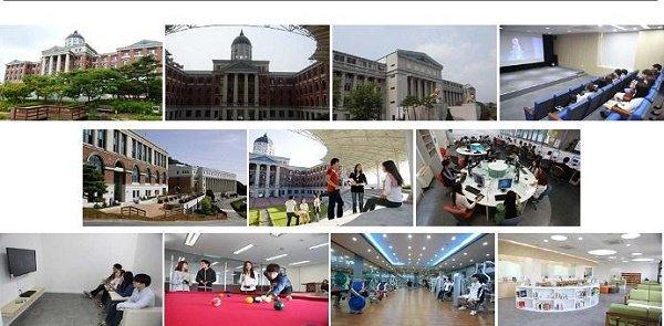 Cơ sở vật chất Đại học Tongwon Hàn Quốc