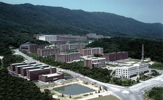 Khuôn viên đại học Daejin Hàn Quốc