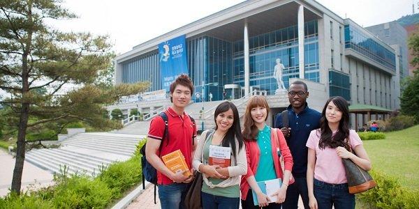 Đại học Hallym Hàn Quốc thu hút rất nhiều sinh viên quốc tế