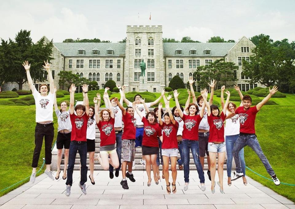 Đại học Hàn Quốc KU thu hút rất nhiều sinh viên quốc tế theo học