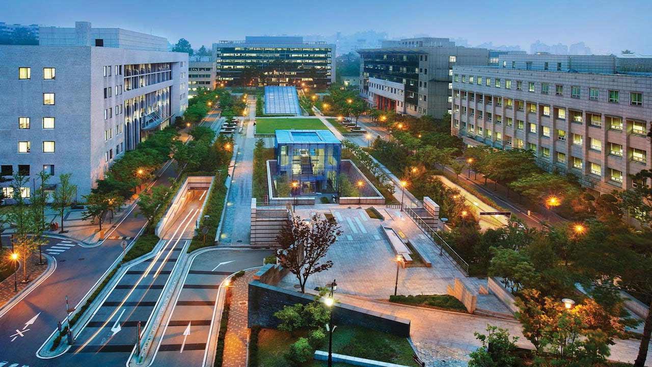 Đại học Hàn Quốc Ku về đêm