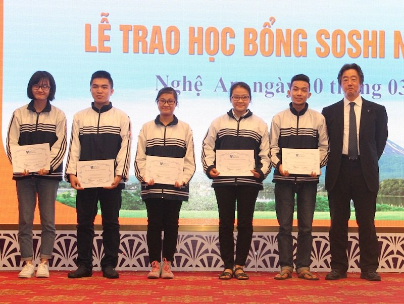 Đã có nhiều sinh viên Việt Nam nhận được học bổng Soshi