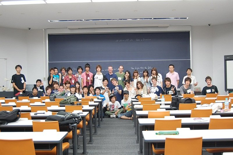 Môi trường học tập tuyệt vời cho các sinh viên quốc tế