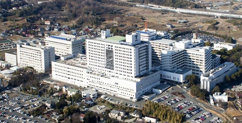 Toàn cảnh khoa Y học của trường Đại học Tokai
