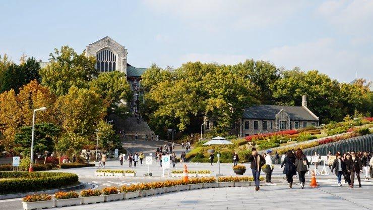 Du học đại học điện ảnh Hàn Quốc đại học nữ sinh Ewha