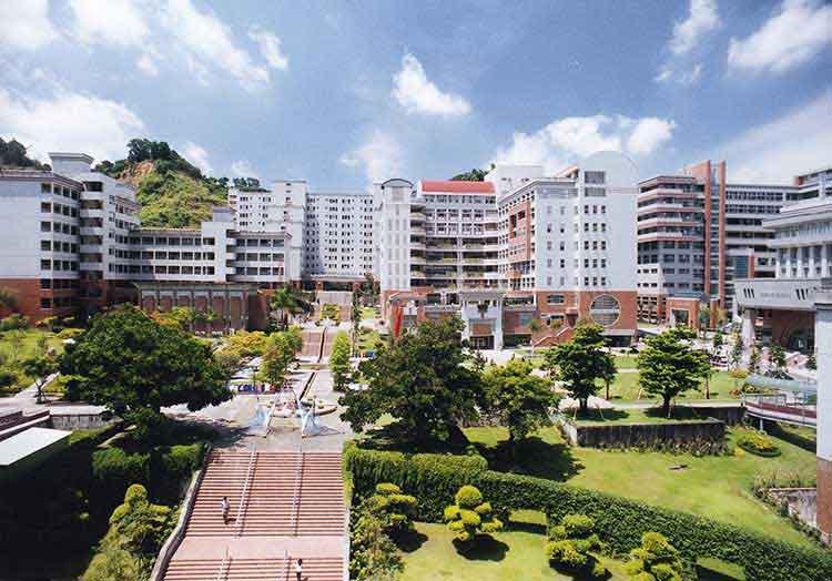 Khuôn viên Đại học Youngsan Hàn Quốc