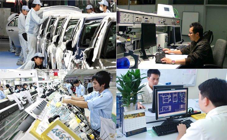 Du học Nhật Bản ngành cơ điện tử