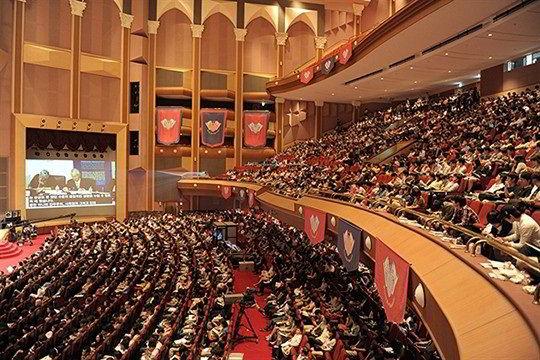 Hội trường lớn Đại học Kyung Hee Hàn Quốc