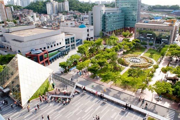 Toàn cảnh khuôn viên Đại học Soongsil