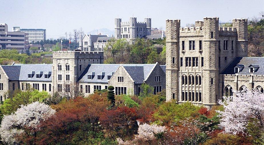 Khuôn viên cổ kính của Đại học Hàn Quốc KU