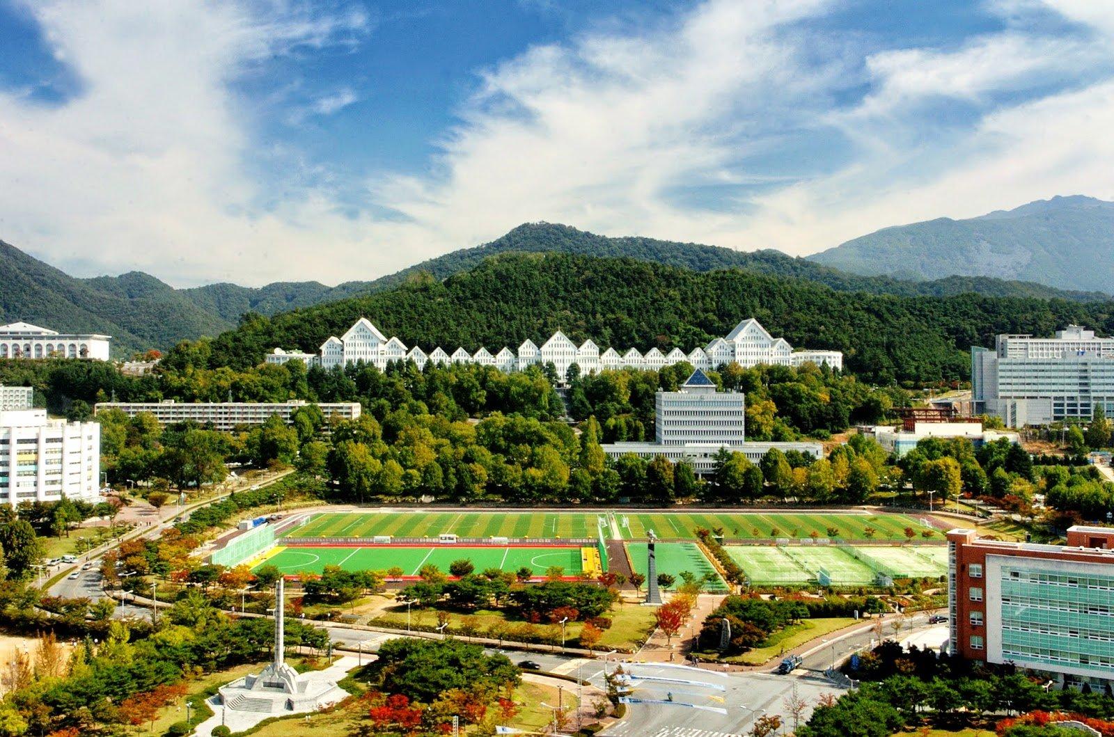 Khuôn viên Đại học Chosun Hàn Quốc