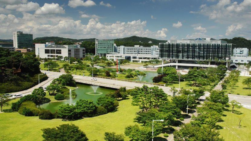 Khuôn viên Đại học KAIST Hàn Quốc