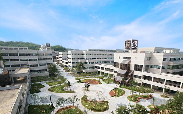 Khuôn viên đại học Pohang Hàn Quốc