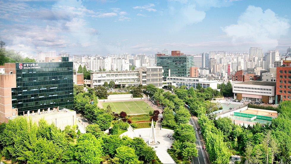 Khuôn viên Đại học Sogang Hàn Quốc