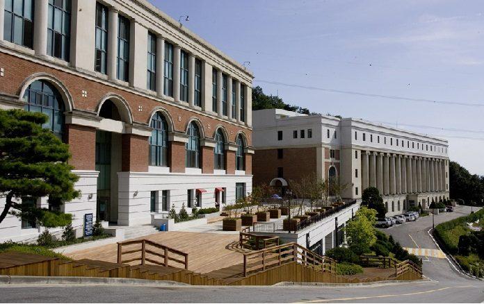 Khuôn viên Đại học Tongwon Hàn Quốc
