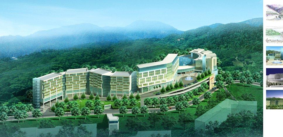 Khuôn viên đại học Yong In Hàn Quốc