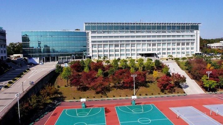 Khuôn viên trường ĐH Kyonggi Hàn Quốc