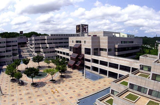 Khuôn viên trường Đại học Postech Hàn Quốc