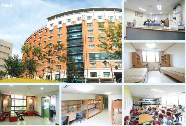 Ký túc xá Đại học Myongji Hàn Quốc