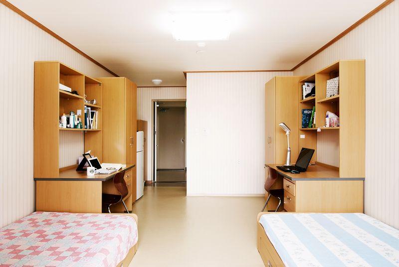 Phòng ở KTX Đại học Sangmyung