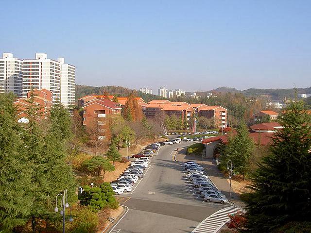 Ký túc xá Trường đại học Postech Hàn Quốc