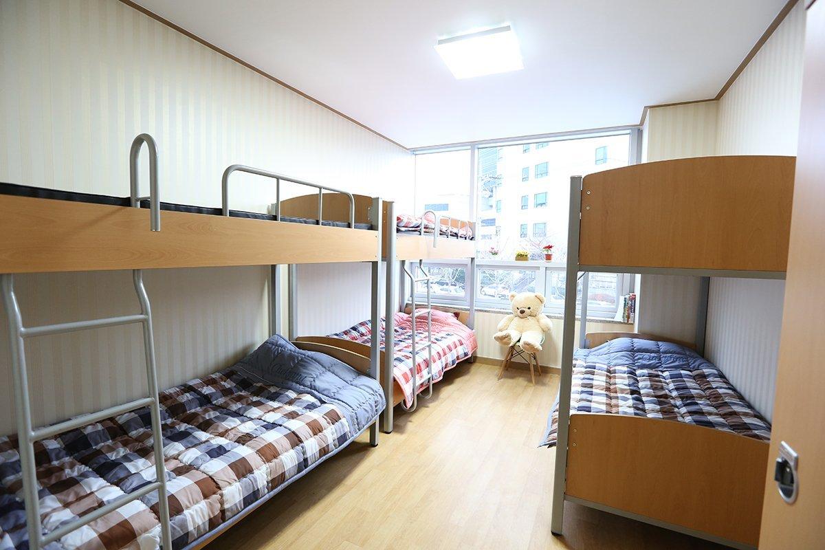 KTX Đại học Daegu rất khang trang dành cho du học sinh quốc tế