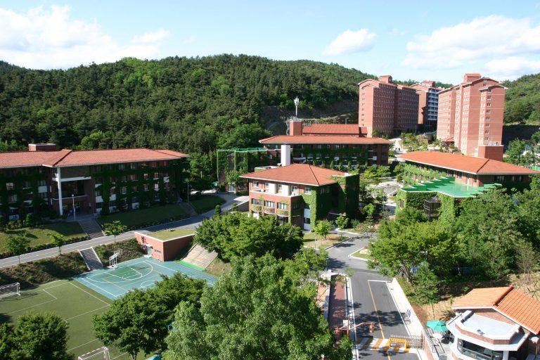Ký túc xá rất khang trang của Đại học Keimyung Hàn Quốc
