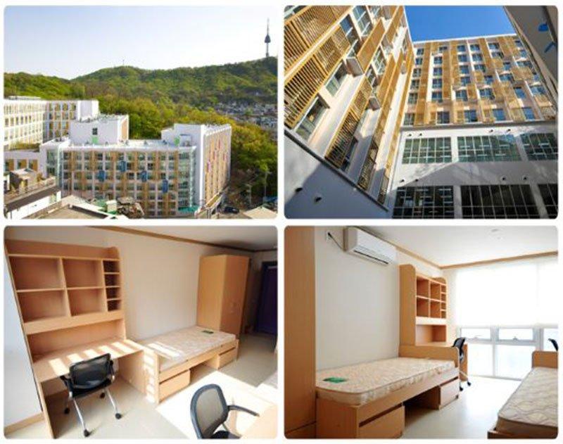 Ký túc xá Đại học KPU Hàn Quốc
