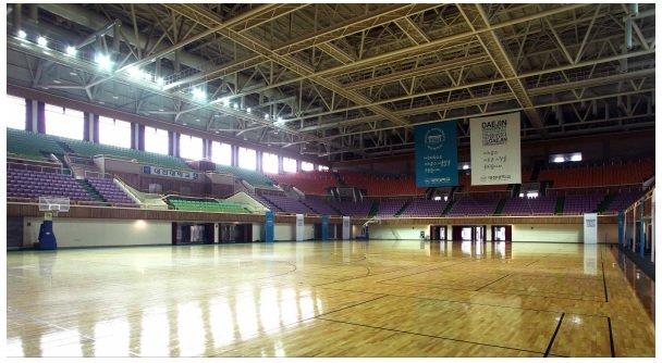Nhà thi đấu Đại học Daejin Hàn Quốc